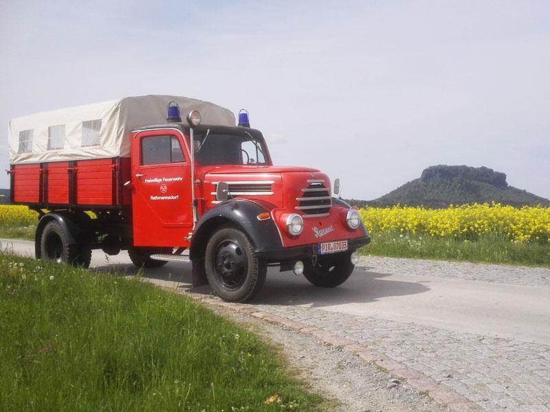 Feuerwehrverein Rathmannsdorf - Oldtimer Mannschaftswagen