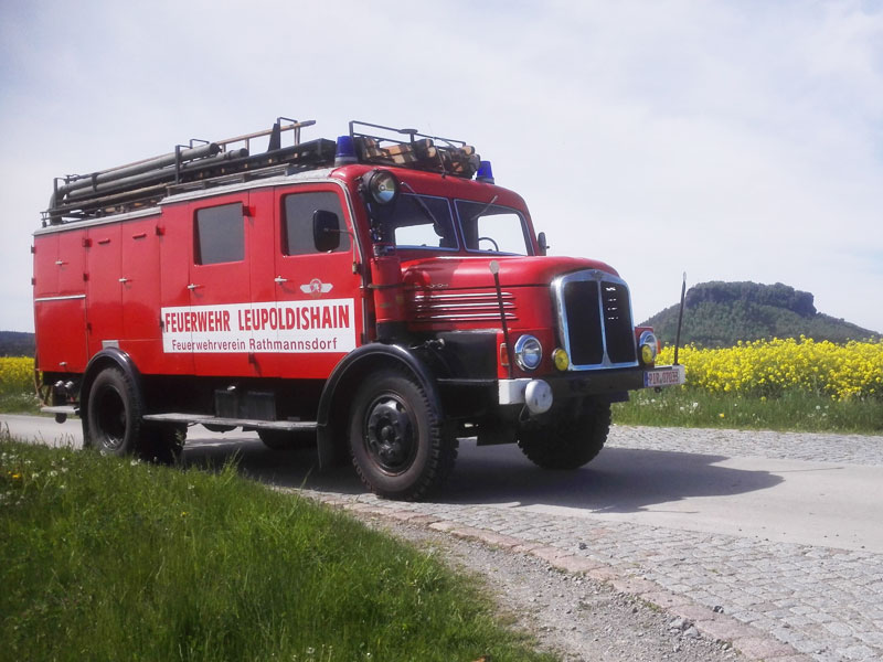 Feuerwehrverein Rathmannsdorf - Oldtimer